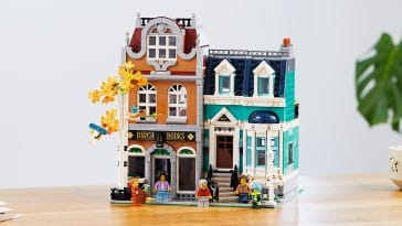 This LEGO bookshop and town house set is inspired by the quaint houses of Amsterdam 23