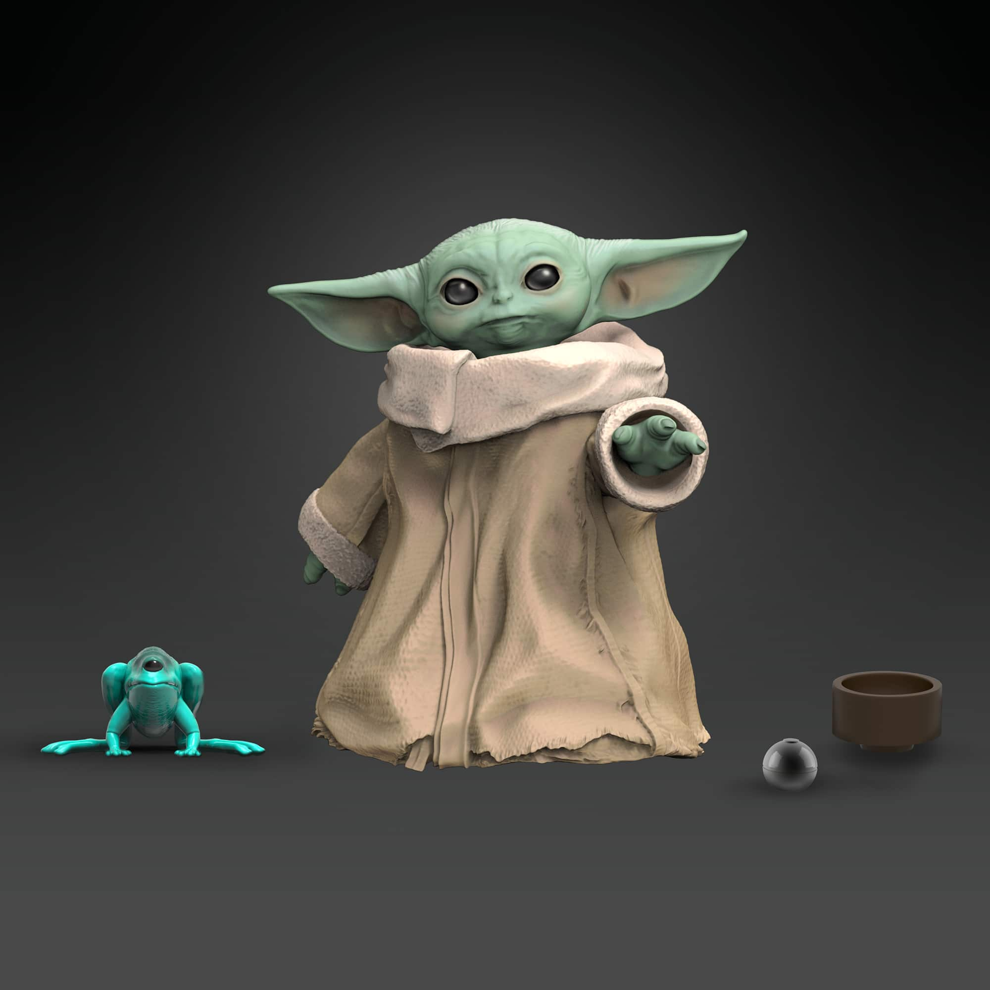 Hasbro's first Baby Yoda toys are here and they're freaking adorable 11