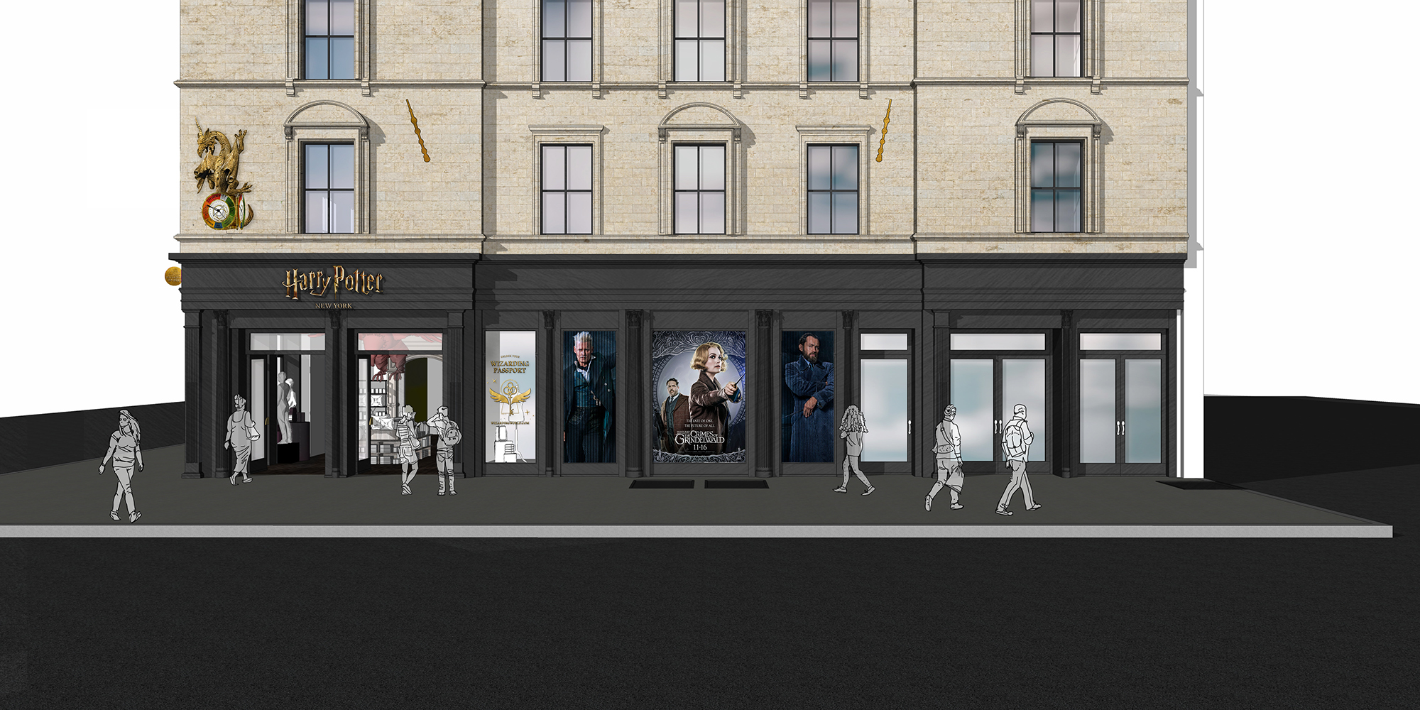 The first official Harry Potter flagship store will open in New York City this summer 13