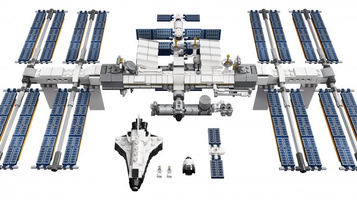 LEGO promotes its International Space Station set by sending one into the stratosphere 12