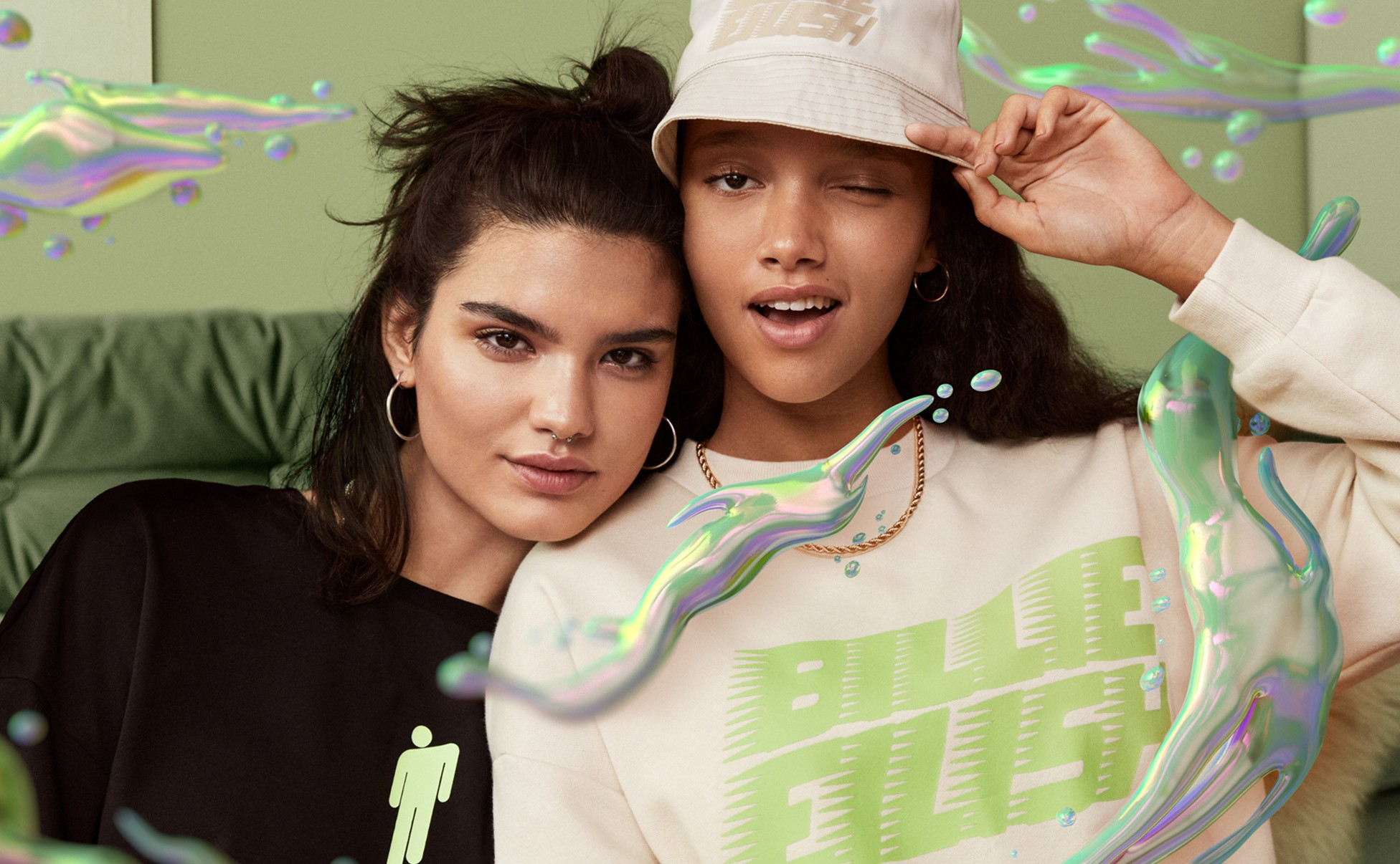 Billie Eilish's sustainable clothing collection with H&M is out now 13
