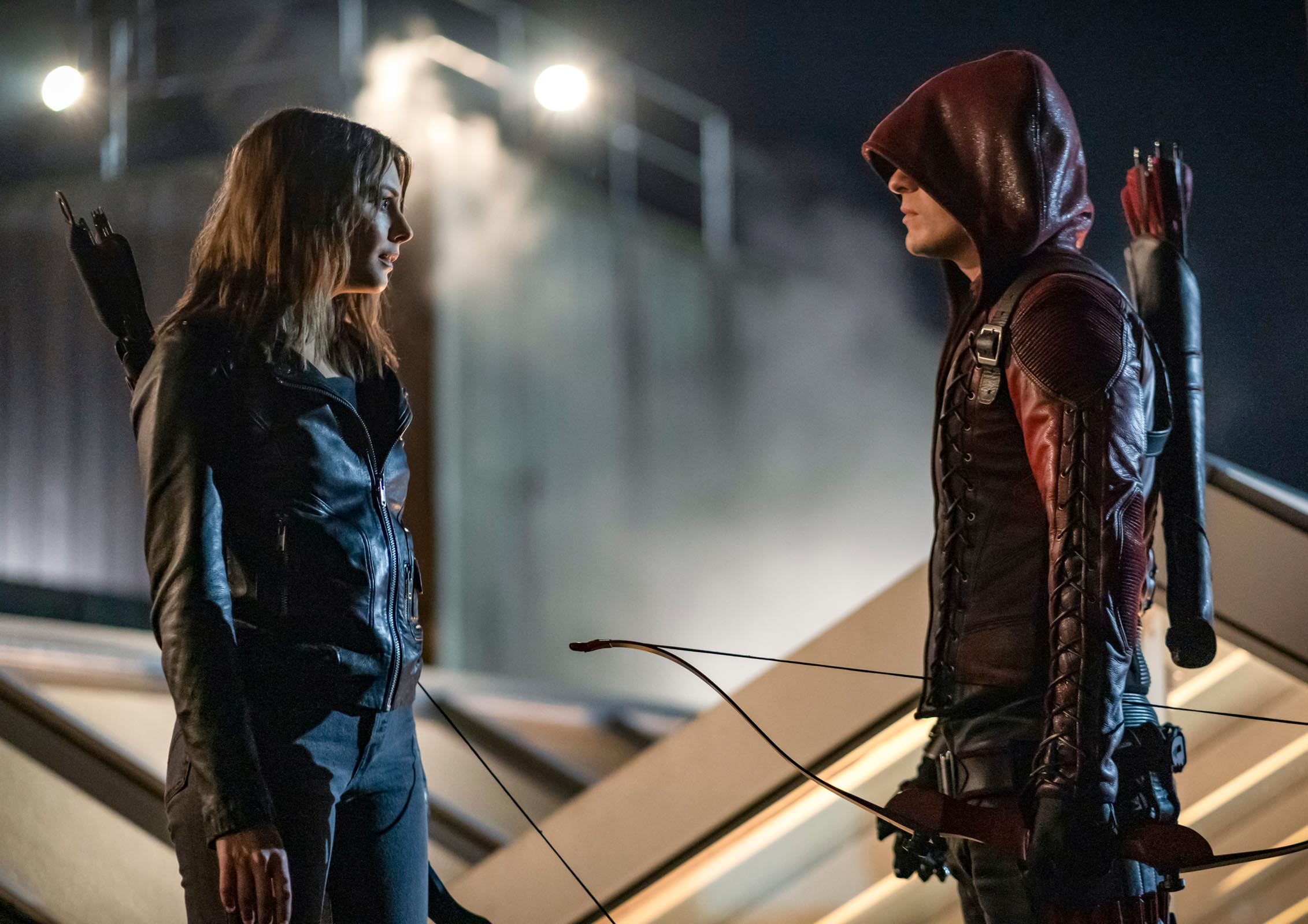 Arrow series finale photos reveal Felicity's return and major post-Crisis changes 16
