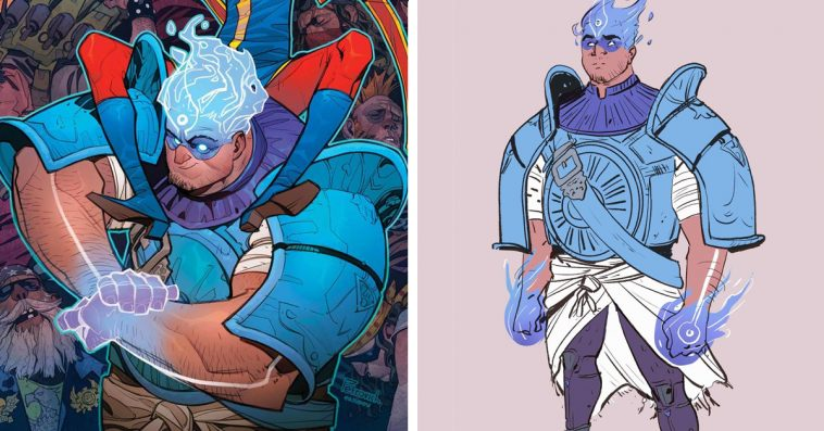 Marvel's newest superhero Amulet is a Lebanese American from Dearborn, Michigan 10