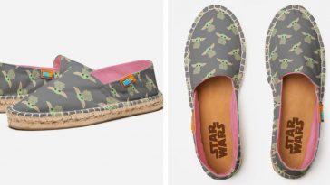 Disney's Baby Yoda espadrille shoes get a new adorable design 33
