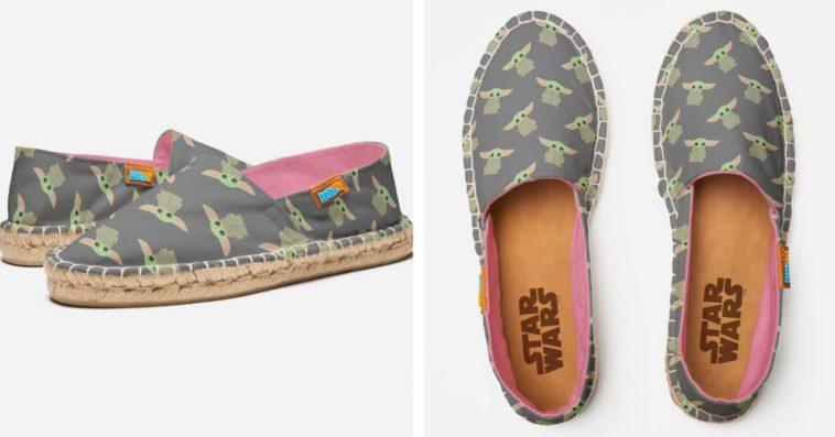 Disney's Baby Yoda espadrille shoes get a new adorable design 11