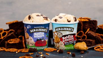 Ben & Jerry's has created a Netflix-branded ice cream that's perfect for binge watching 12