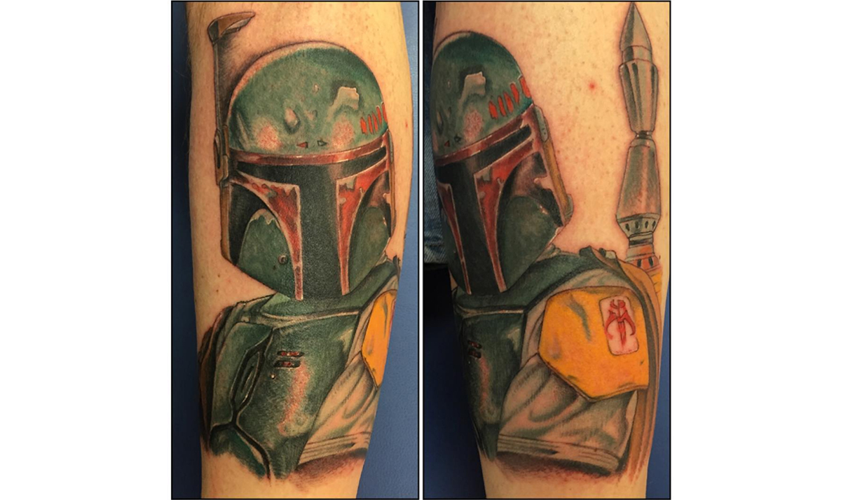 Amazing Star Wars tattoos that are worth the pain 16