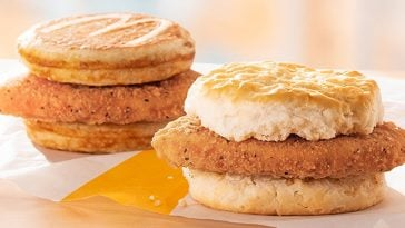 McDonald's now offers Chicken McGriddles and McChicken Biscuit nationwide 19