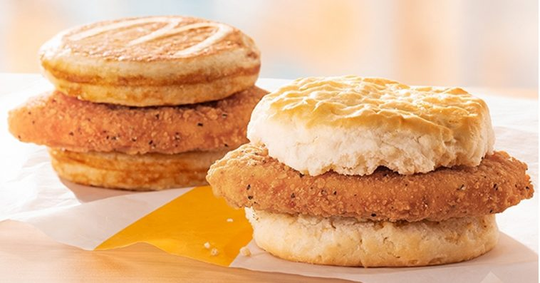 McDonald's now offers Chicken McGriddles and McChicken Biscuit nationwide 13