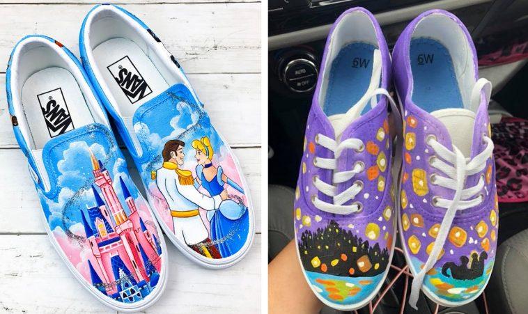 26 Incredible custom Disney-inspired sneakers 13