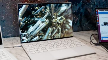 The Dell XPS 13 now has an almost bezel-less display on all sides 14