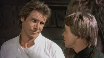 Mark Hamill has a cheeky response to rumors that Harrison Ford kissed him on the Star Wars set 12