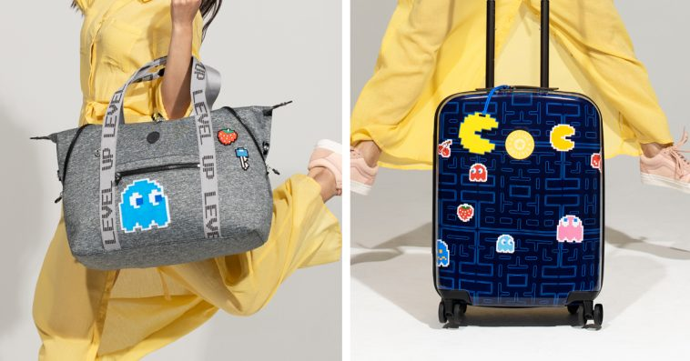 Kipling's Pac-Man bag collection is here, and it's giving us major '80s vibes 14