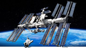 LEGO promotes its International Space Station set by sending one into the stratosphere 18