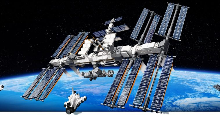 LEGO promotes its International Space Station set by sending one into the stratosphere 11