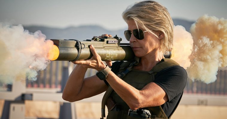 Terminator star Linda Hamilton says she'd be 'quite happy' to never play Sarah Connor again 12