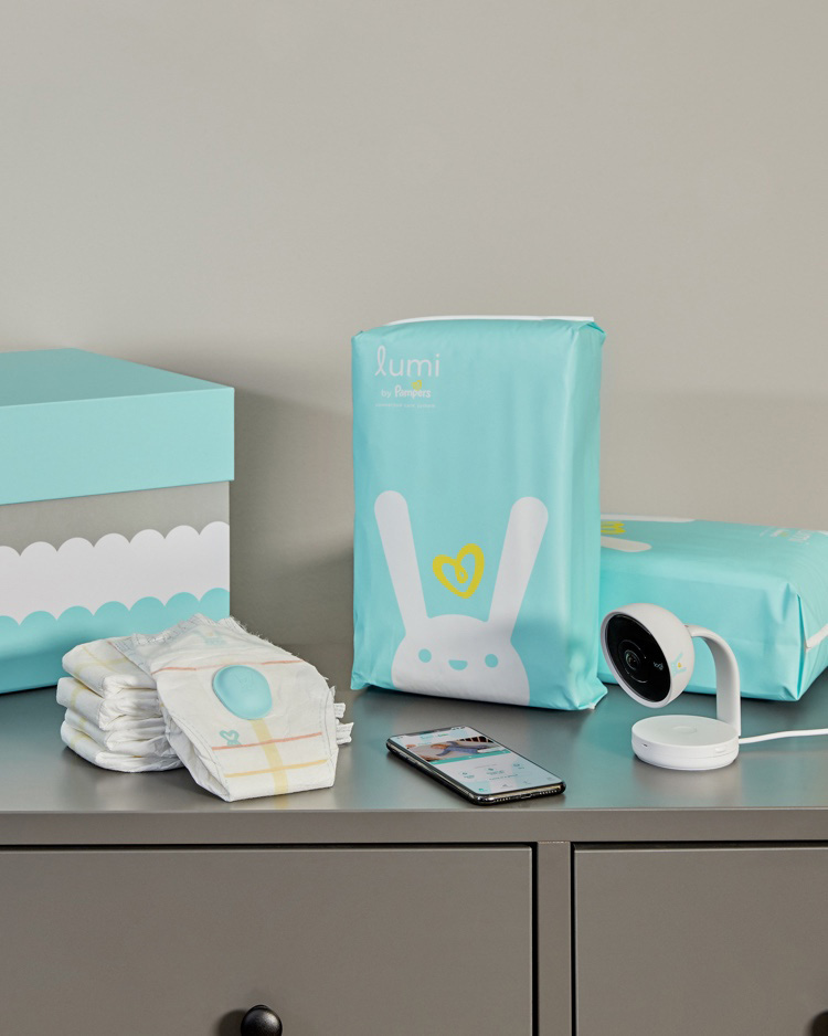 The Pampers Lumi smart diaper sensor starts doing the dirty work today 13