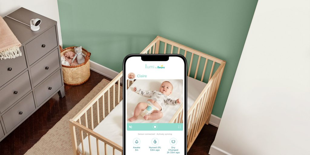 The Pampers Lumi smart diaper sensor starts doing the dirty work today 14