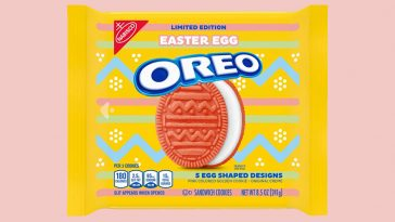 Pink Easter Egg Oreos are hitting the shelves in February 14