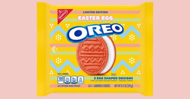 Pink Easter Egg Oreos are hitting the shelves in February 11