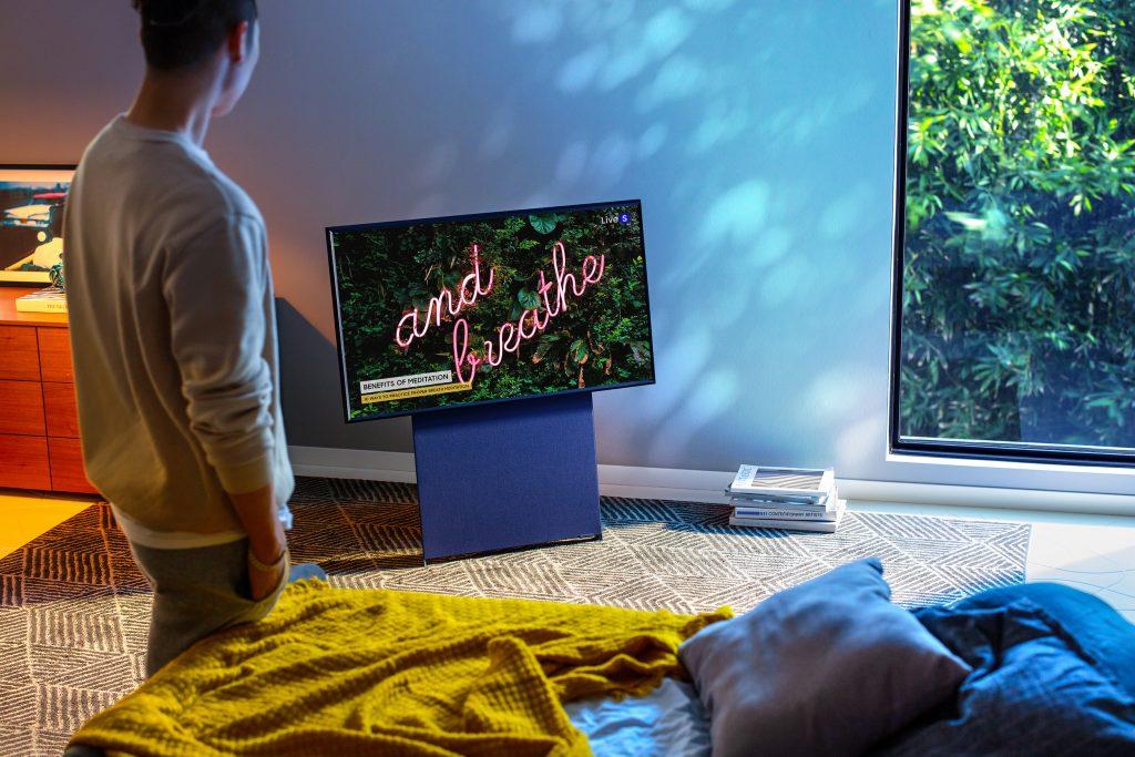 Samsung Sero TV is a vertical TV designed for Gen Z 13