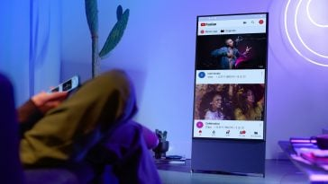 Samsung Sero TV is a vertical TV designed for Gen Z 15