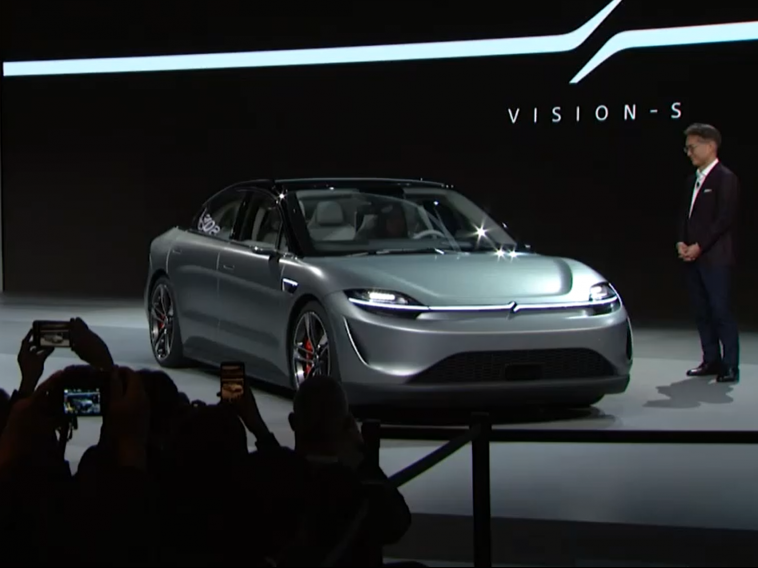 Sony surprises with the Vision-S electric car at CES 2020 13