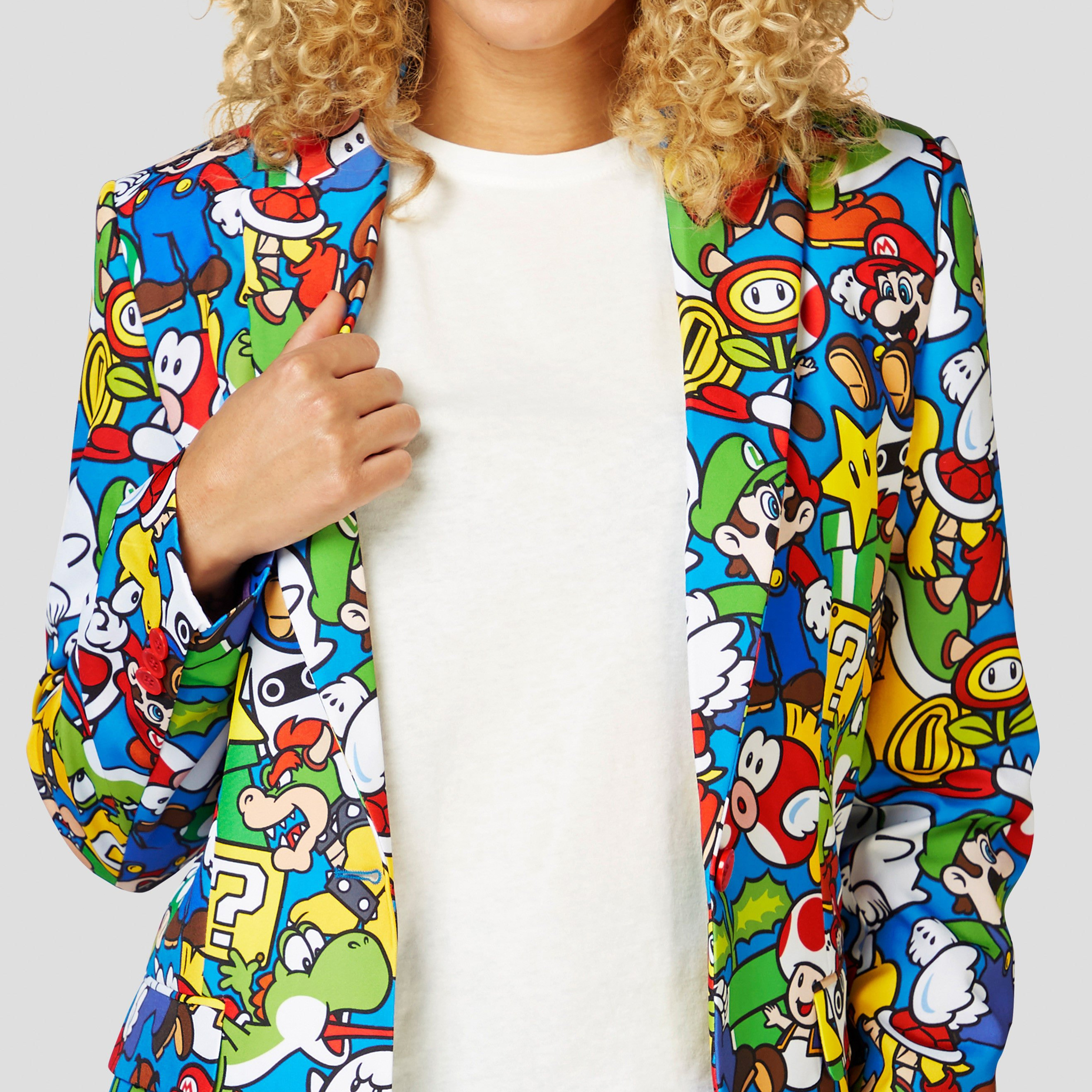 This flashy Super Mario blazer will power up your office outfit game 15