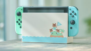Animal Crossing-themed Nintendo Switch is covered in pretty pastels 14