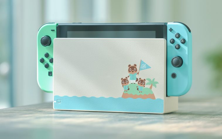 Animal Crossing-themed Nintendo Switch is covered in pretty pastels 13