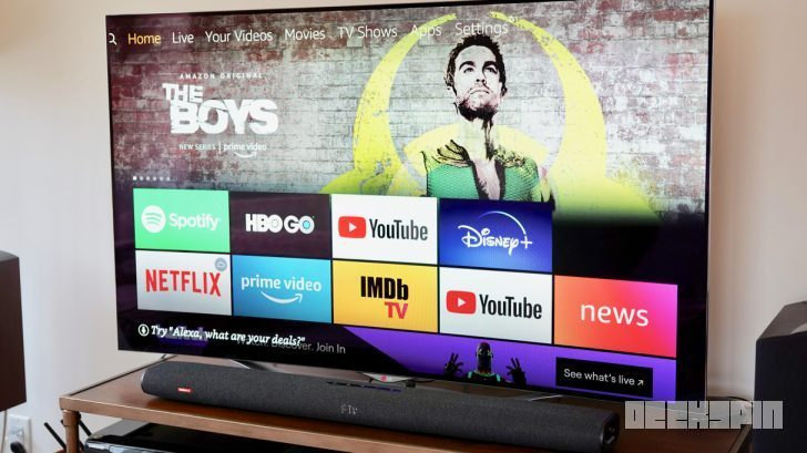 Anker Nebula Soundbar Fire TV Edition review 14