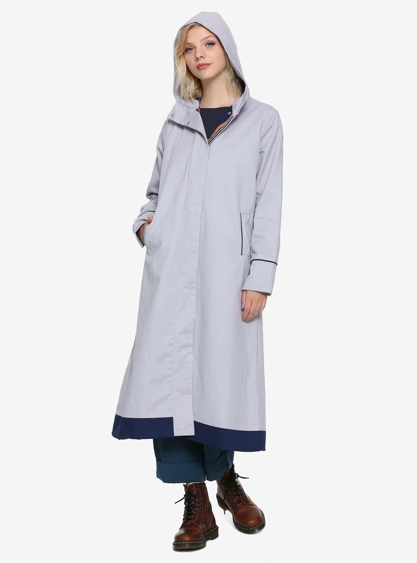 This Doctor Who trench coat is just in time for the 12th season premiere 21