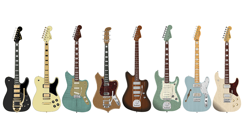 Fender Parallel Universe II collection 2020