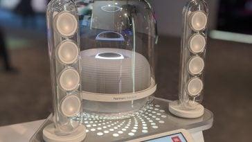 Harman Kardon is bringing back their iconic transparent SoundSticks 18