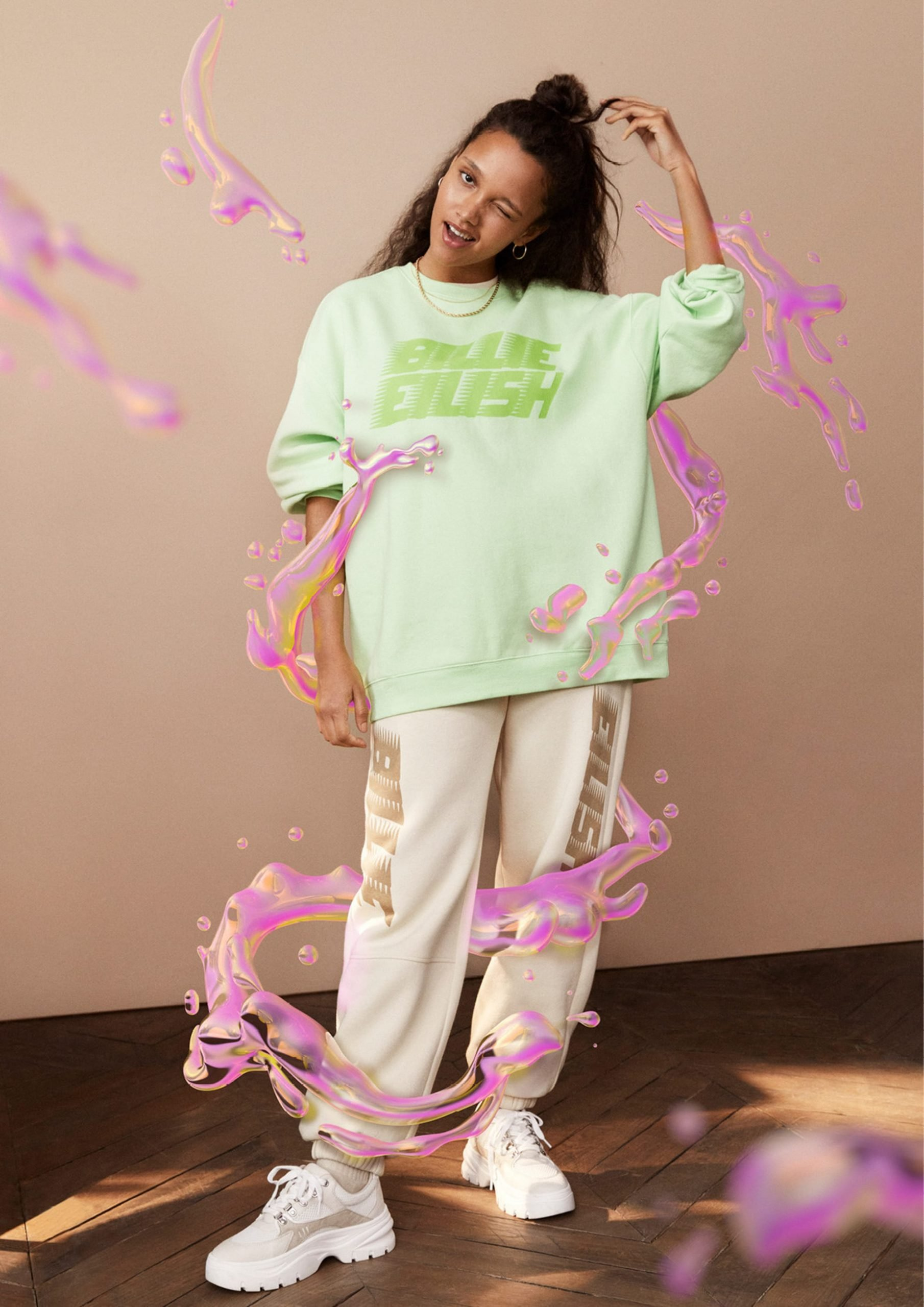 Billie Eilish's sustainable clothing collection with H&M is out now 15