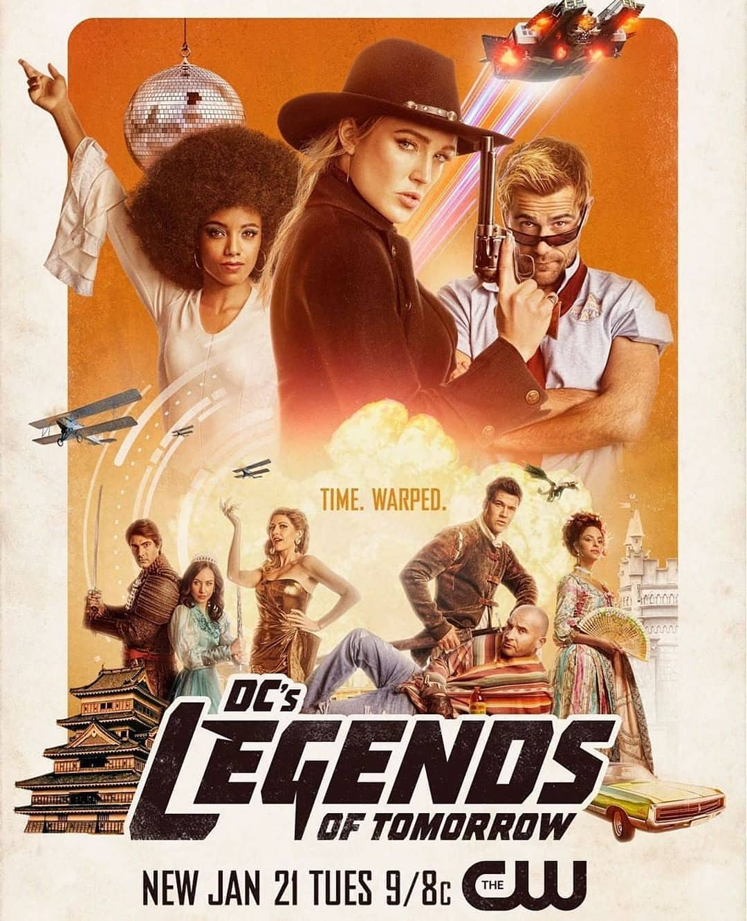 Legends of Tomorrow Season 5 gets a retro poster and a hilarious new trailer 15