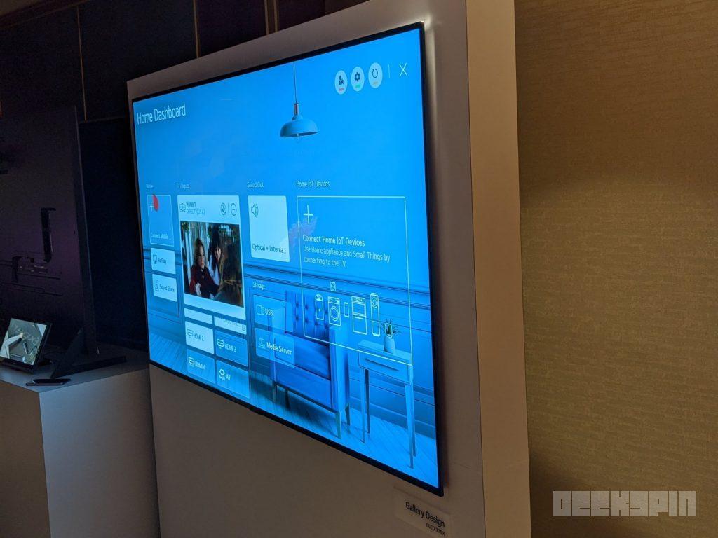 LG GX Gallery Series 4K TV