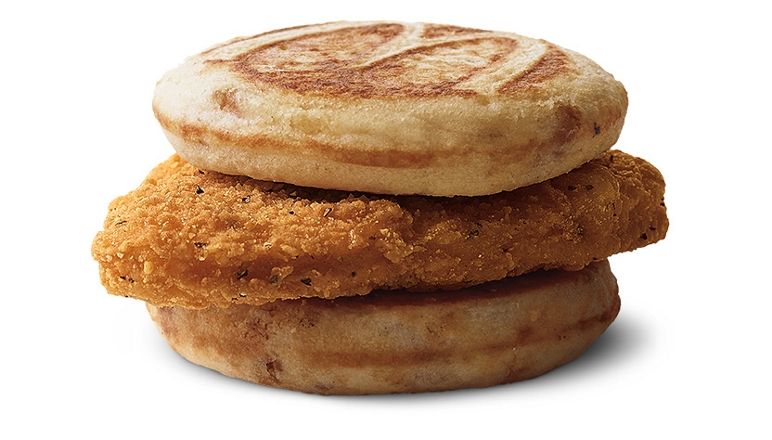 McDonald's now offers Chicken McGriddles and McChicken Biscuit nationwide 14