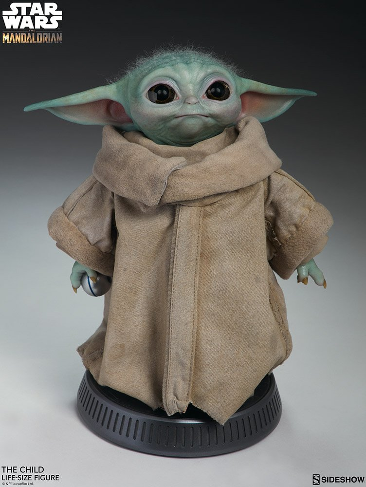 A life-size Baby Yoda figure is now available and it's crazy realistic 12