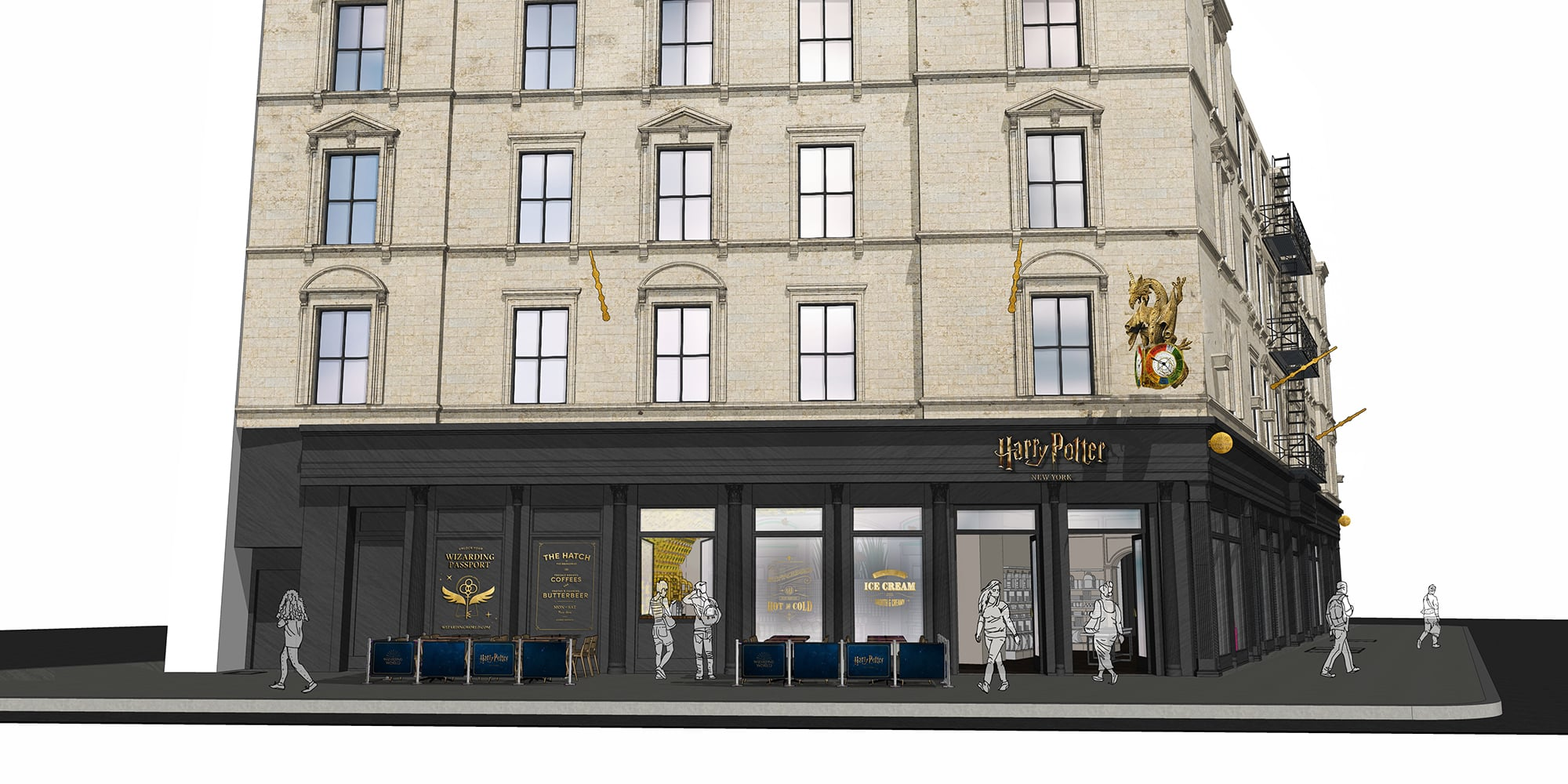 The first official Harry Potter flagship store will open in New York City this summer 12