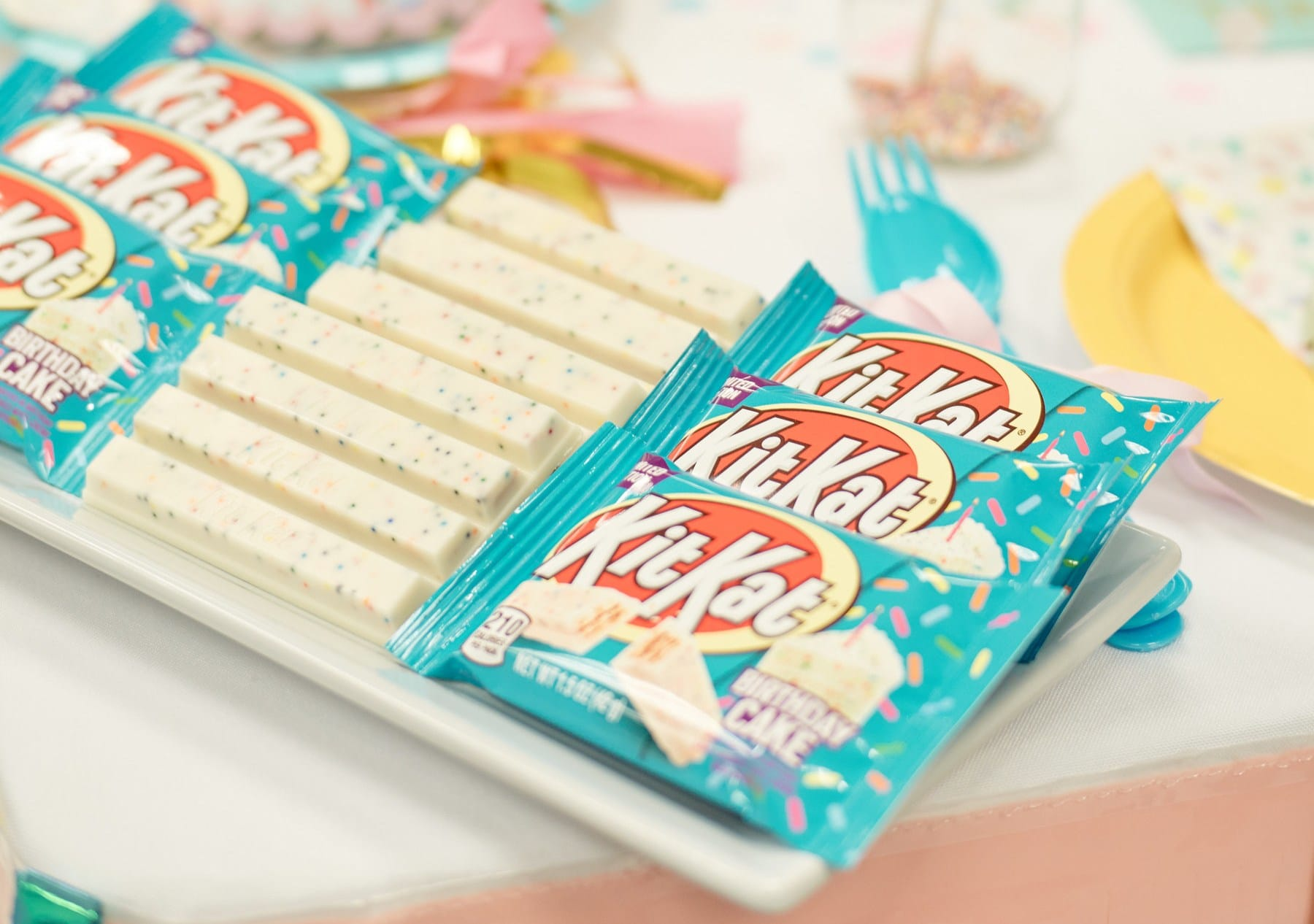 Birthday cake-flavored Kit Kats are hitting the shelves this April 17