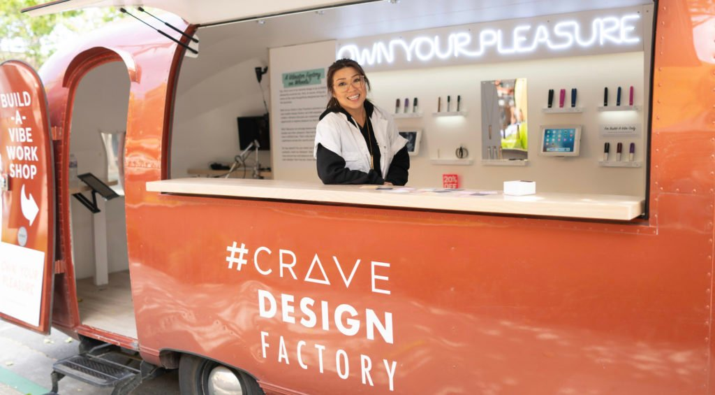 "Crave also made waves back in January when they brought their ""Build a vibe"" van to CES"