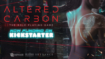Altered Carbon tabletop RPG Kickstarter has been successfully funded in just two hours 13