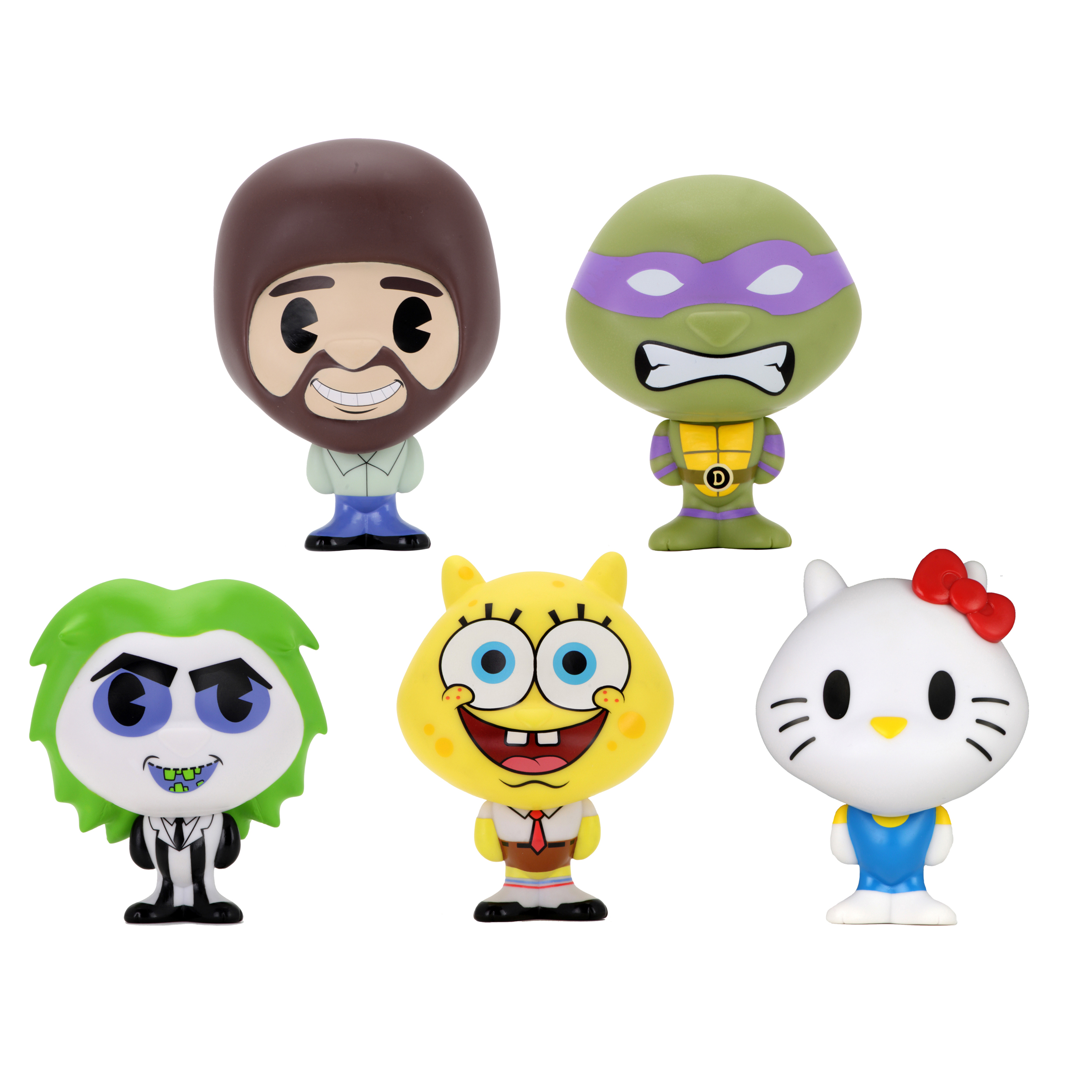 Hello Kitty, Bob Ross, and SpongeBob debut in adorable Kidrobot Bhunny collection 15