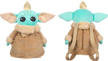 This super cute Baby Yoda plush toy doubles as a backpack 12