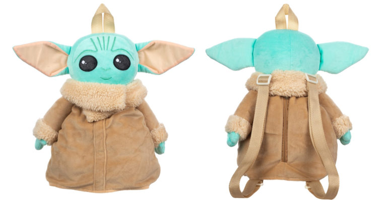 This super cute Baby Yoda plush toy doubles as a backpack 11