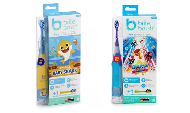BriteBrush is a smart toothbrush for kids that plays the Baby Shark song 14
