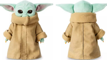 Disney's Baby Yoda plush toy quickly sold out after its launch 21