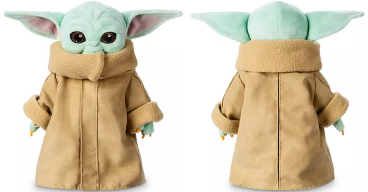 Disney's Baby Yoda plush toy quickly sold out after its launch 12
