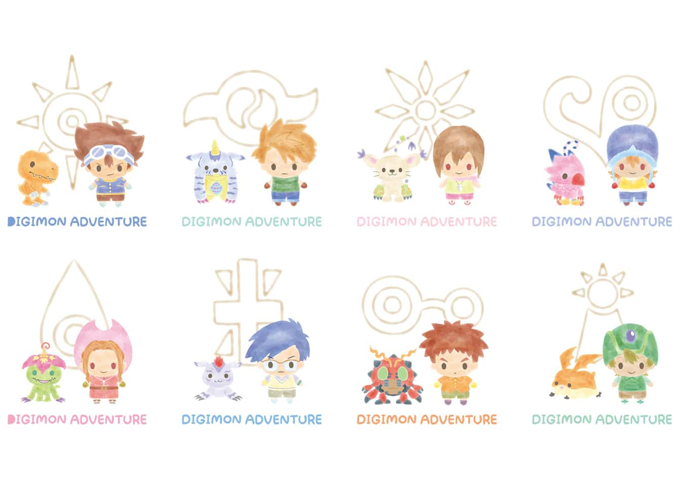 The original Digimon characters get a cute Sanrio makeover 16